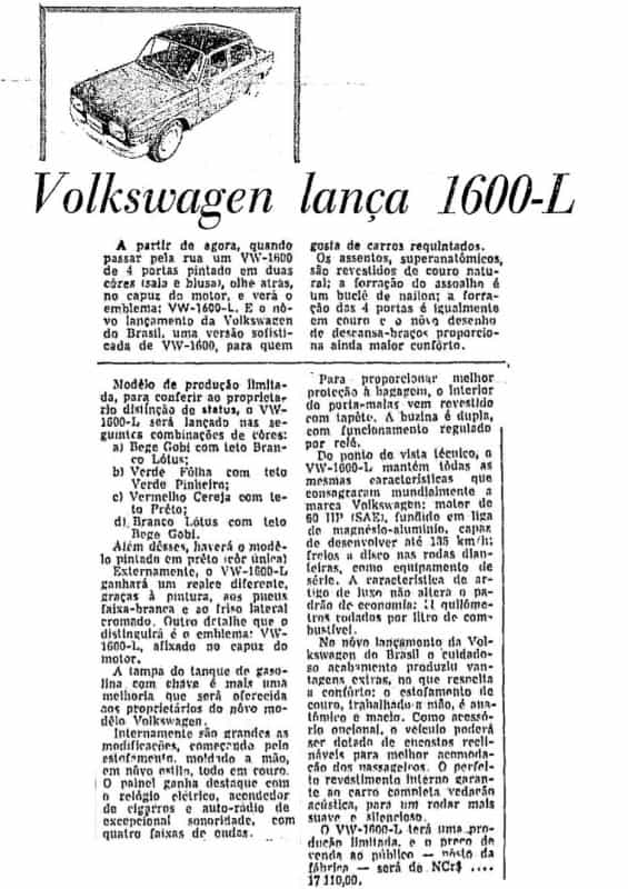 "AG-49-Foto-16  VW 1600: ""FALEM BEM OU FALEM MAL, MAS FALEM DE MIM! "" – PARTE 2 AG 49 Foto 16"
