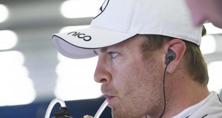 Silverstone: Indecisão custou caro a Nico Rosberg (Foto Mercedes)