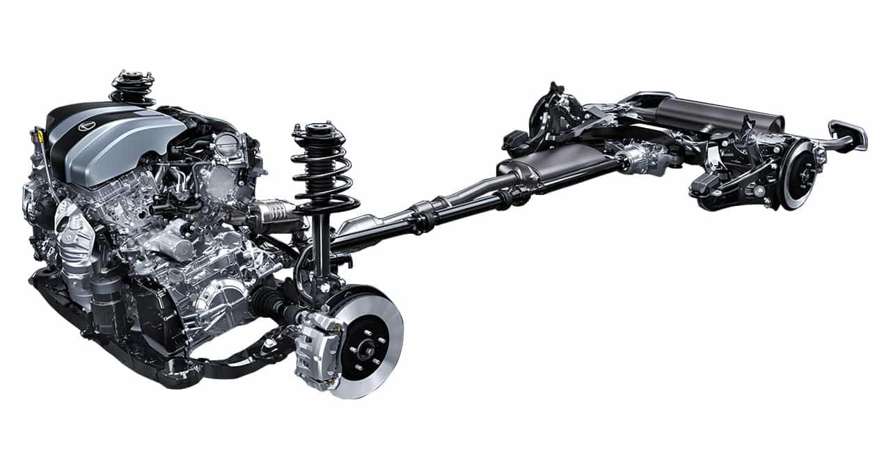 Lexus-RX-chassis-specs-