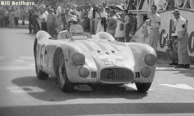 LE MANS 1950, A VITÓRIA DE UM HOMEM SÓ WM Carrera Panamericana 1953 11 23 006