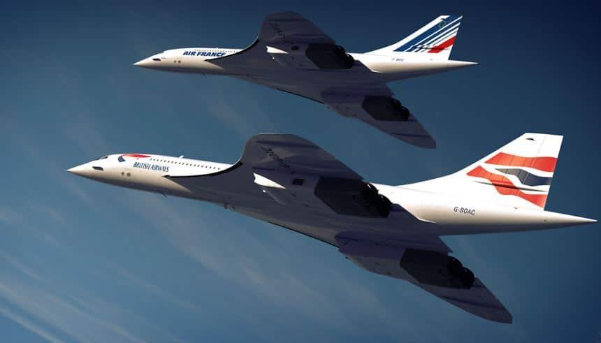 LIMITES TECNOLÓGICOS E AS PREVISÕES DO FUTURO mh interna destaque curiosidades concorde airfrance britishairway