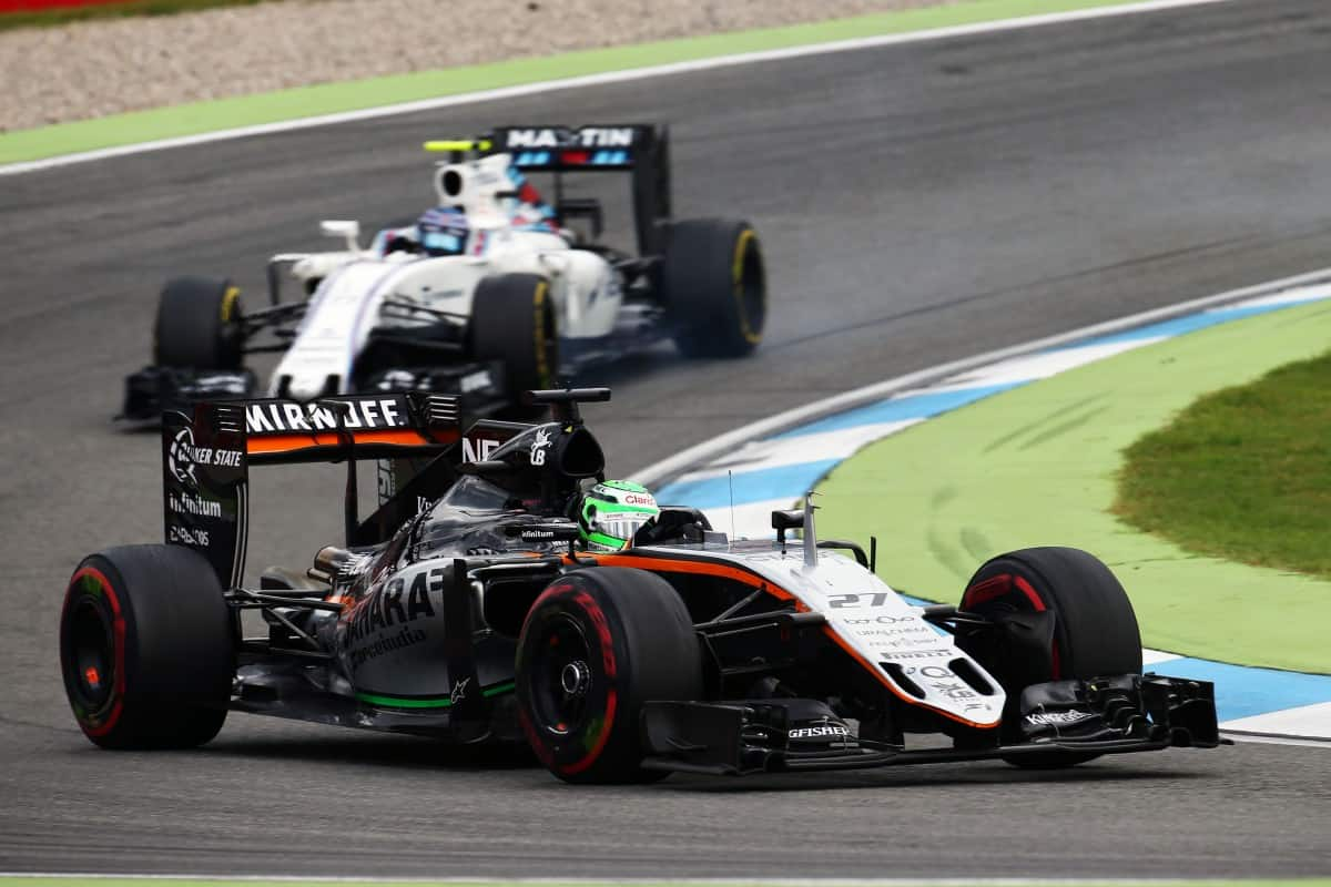 Force India pode tirar o quarto lugar da Williams para trás entre os Construtores (Foto Sahara Force India)