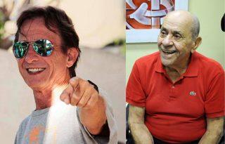 Eduardo Cardoso (1952-2016) e José Asmuz (1928-2016) (Fotos de arquivo)