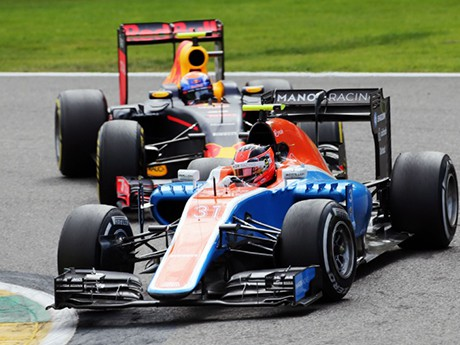 Esteban Ocon teve problemas de freio e estreia discreta (Foto Manor)