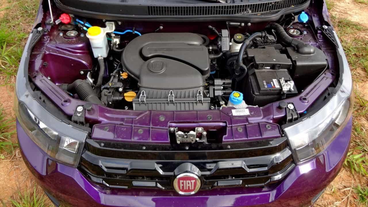 O motor Fire EVO pode não ser moderno como os novos 3-cilindros, mas cumpre muito bem o seu papel
