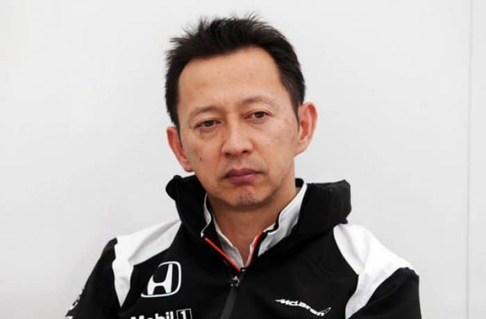 Hasegawa indicou que em 2018 motor Honda será usado por mais de uma equipe (Foto Honda) F1 Mercado de Pilotos 2017 INCERTEZAS PARALISAM MERCADO DA F-1 20160927 hasegawa HONDA