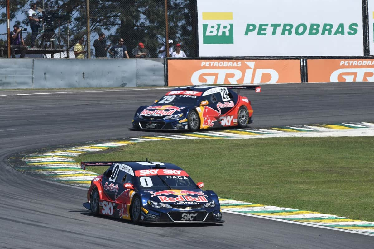Equipe Red Bull deixa a Stock Car no final do ano. (Foto Vicar)