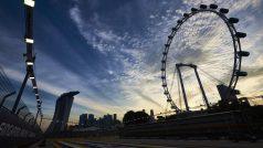 Roda do tempo virou em CIngapura (Foto Red Bull Content Pool)