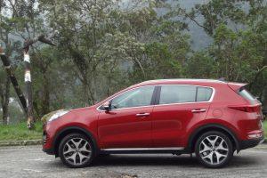 o ótimo Sportage puxando as vendas da Kia para cima