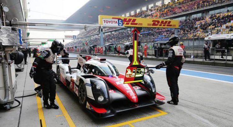 Toyota andou forte em Shangai, mas pneus furados comprometeram o resultado final (Foto Toyota)