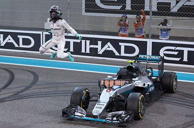 Título poe fazer Nico alçar vôos mais altos em sua carreira (Foto Mercedes) rosberg NICO, ENFIM CAMPEÃO 20161129 Coluna Abre Nico Pulo