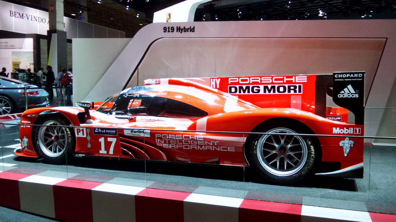 Mais um dos campeões da Porsche, o 919h