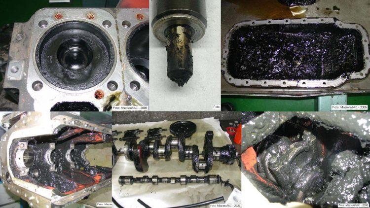 Fotos de um motor MWM D-229/3 que rodou apenas 60 horas com óleo bruto de girassol. O trabalho é de autoria de José Valdemar Gonzales Mazieiro e os resultados podem ser vistos em (http://ptdocz.com/doc/393803/utiliza%C3%A7%C3%A3o-do-%C3%B3leo-de-girassol-como-combust%C3%ADvel-em-motor-...)