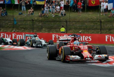 Alonso liderou, terminou em segundo e mostrou que vale quanto ganha (Foto Ferrari Media)