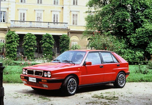 Delta HF Integrale 16V de 1989 (Lancia Press)