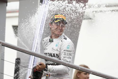 Nico Rosberg viveu semana de muitas comemorações (Foto Mercedes Benz Media)
