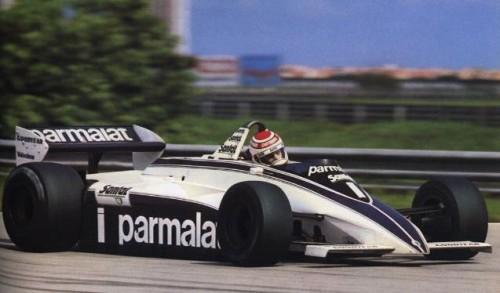 Nelson Piquet no Brabham BT, GP do Brasil de 1982 (pordentrodosboxes.blogspot)