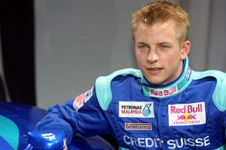Kimi Räikkönen pulou da F-Renault 2.0 para a F-1 quando a categoria permitia testar sem restrições (Foto Sauber Motorsport AG)