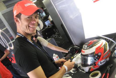 André Lotterer, que já testou pela Jaguar, pode estrear este fim de semana na F-1 (Foto Audi Motosport)
