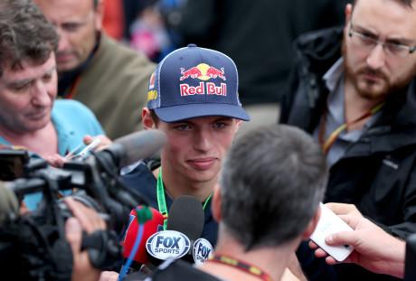 Max Verstappen, 16 anos, piloto da Toro Rosso em 2015 (Foto Getty Images)