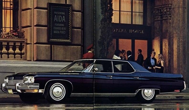 "Buick Electra 225 hardtop, 1973: ""As big as a Buick!""(divulgação)"