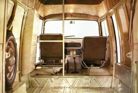 Estafette interior