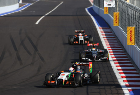 Force India e McLaren disputam o quinto lugar entre os Construtores (Foto Force India)