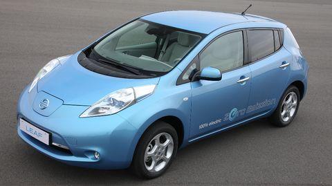 Elektroauto-Nissan-Leaf