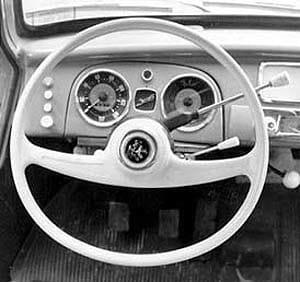 volante achatado