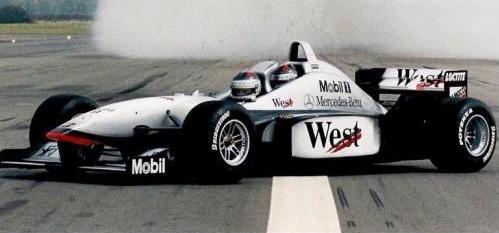 McLaren biposto