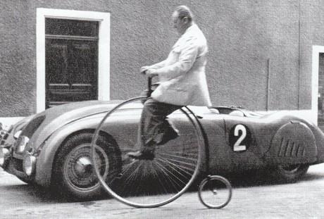 Ettore Bugatti e seu Tank (foto: bestudy.ir)