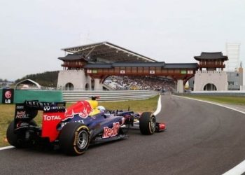 Vettel, GP da Coreia (Foto Getty Images)
