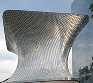 O Museu Soumaya, arrojado edifício na CIdade do México (Foto Museo Soumaya)