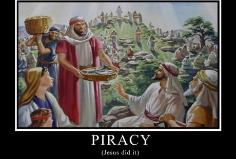 Jesus praticava pirataria?