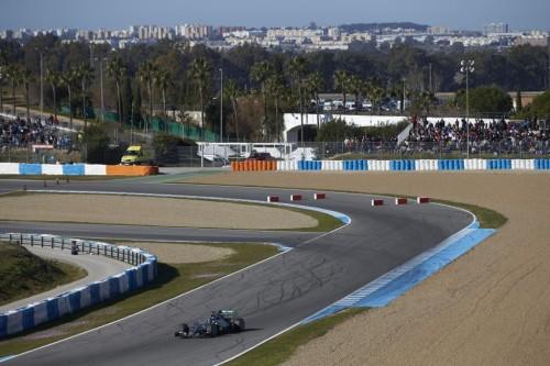 Jerez voltou a receber a F-1 (Foto Mercedes Benz Media)