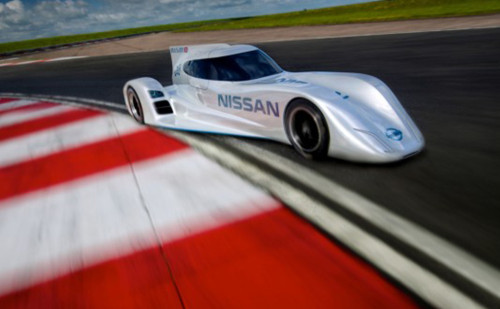 A variante Nissan do Delta Wing (Foto Nissan)
