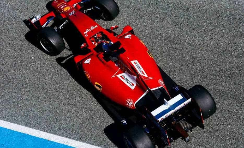 Vettel animou os fãs da Scuderia (Foto Ferrari Media)