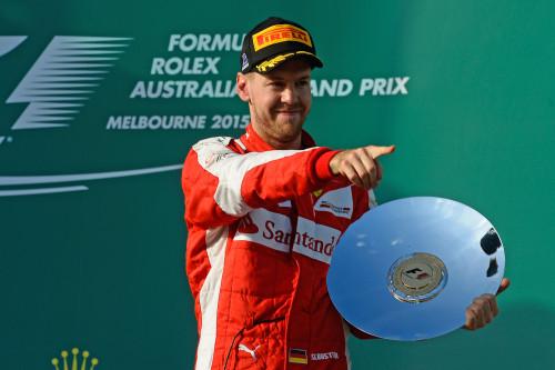 Sebastian Vettel lustra o ego dos italianos e ganha espaço na Scuderia (Foto Ferrari)