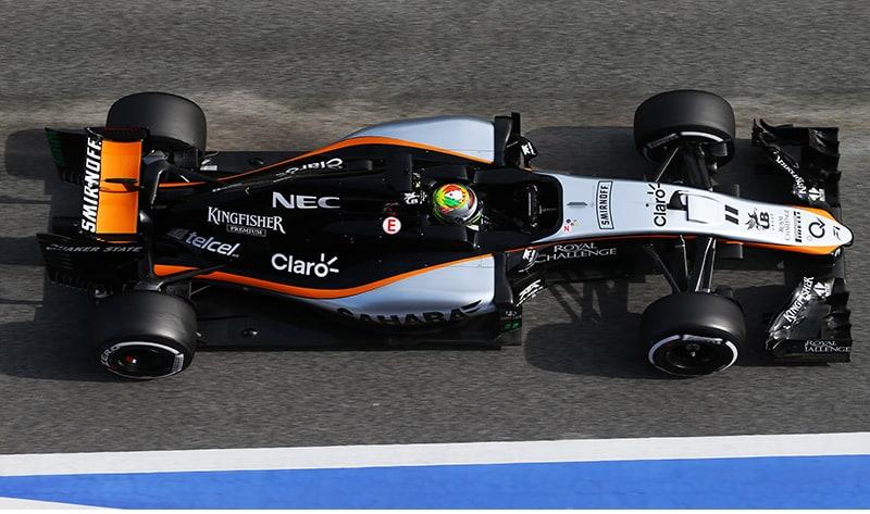 Pérez: novo Force India demonstrou que é confiável (Foto Sahara Force India)