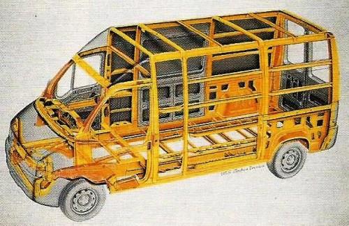 chassis escada