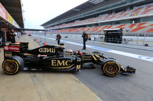 Lotus E23 Hybrid-Mercedes