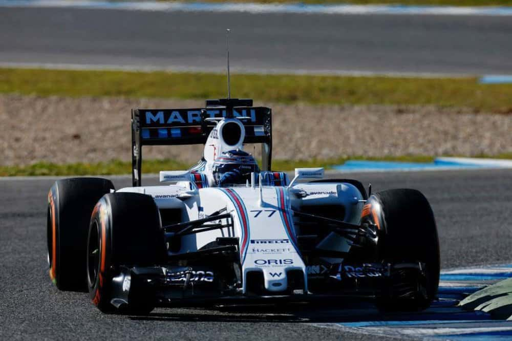 Williams FW37 Mercedes (Foto Wllliams)