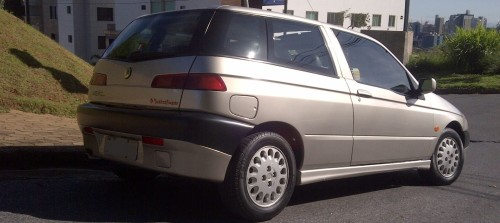 Alfa Romeo 145, aguardando a mexida