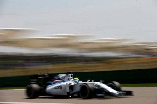 Felipe Massa desta vez não deu chance para Valteri Bottas (Foto Williams GP)