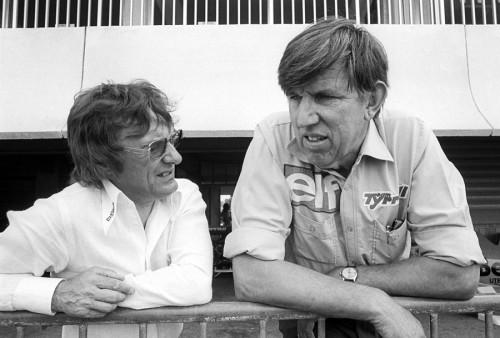 Ecclestone e Tyrrell eram amigos próximos (Foto ESPNF1.com)
