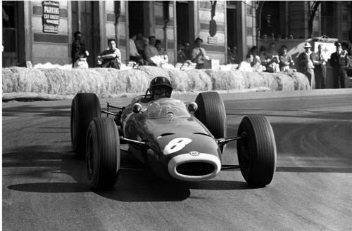 Graham Hill venceu cinco vezes, incluindo em 1964, com esta BRM P261 (foto Monaco GP)