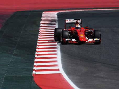 Vettel não teve potencia para acompanhar as Mercedes (foto Ferrari)