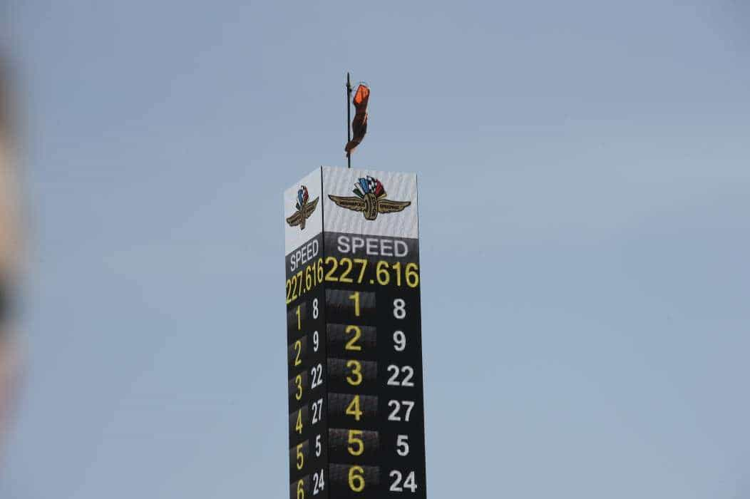 Em Indy tudo é grande, até a velocidade média (foto Indicar.com)