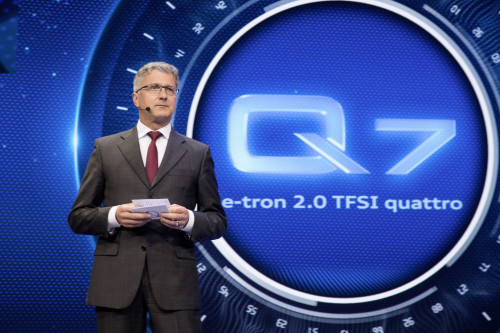 """Rupert Stadler: """"a F-1 não está nos nossos planos"""" (foto Audi)"""