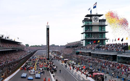 Indy pode receber 400 mil pessoas no grande dia (foto Indycar)